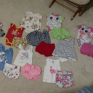 Other - 6-9 month girls summer outfits